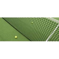 Plasă tenis câmp poliamida d:1.9mm a:45mm cu bandă
