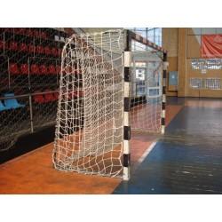 Plasă handbal poliamida  d:3mm a:100mm cu perdea